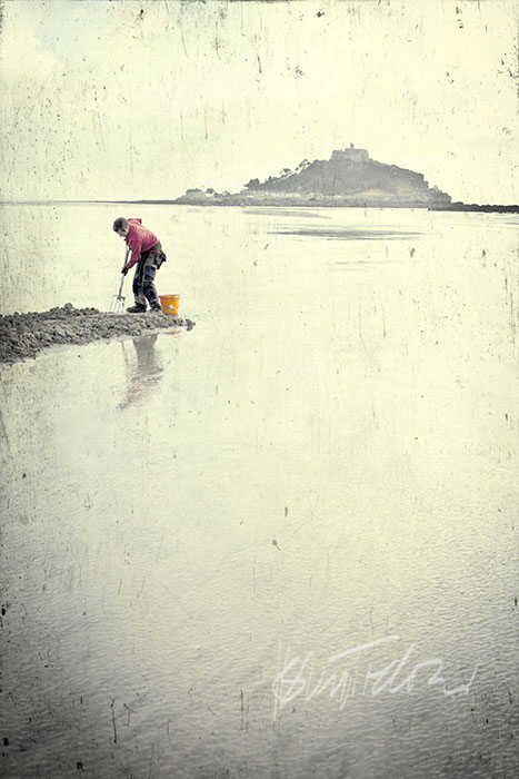 Marazion Beach, Winter, St Micheals Mount,Cornwall, beach, sea,