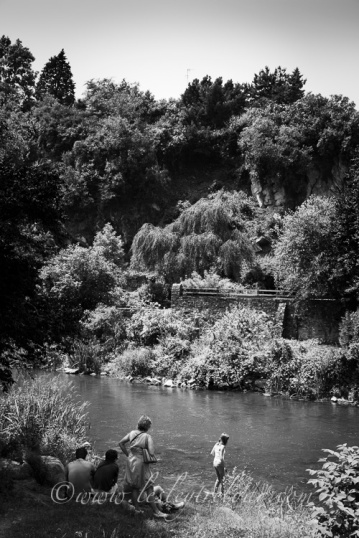 cooling off, River Sarthe