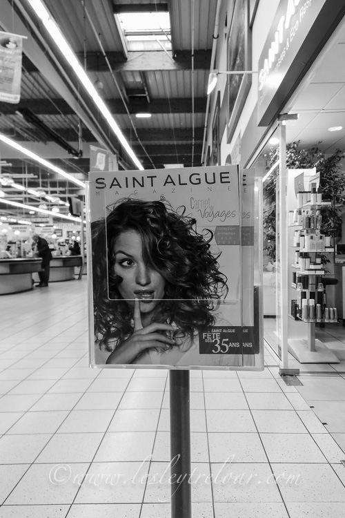 My favourite hairdresser - in the supermarket!