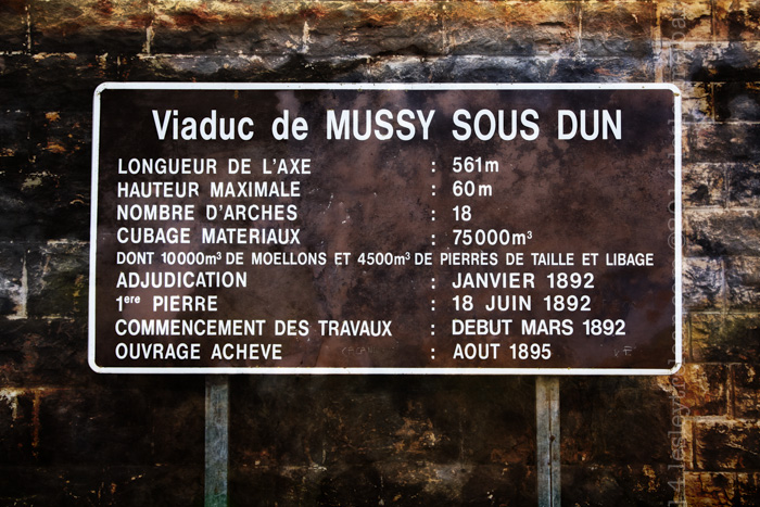 Mussy sous Dun Viaduct, Burgundy, France