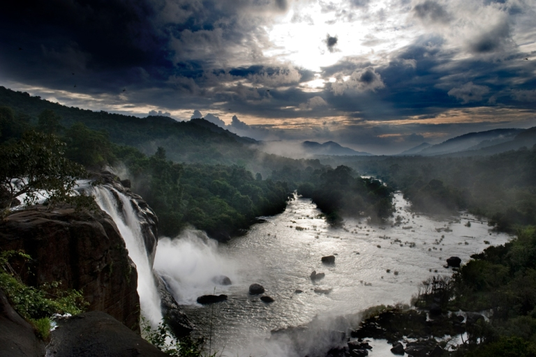 Athirappilly-falls-kerala